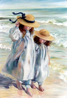 """Sisters,"" a seascape -- by Mary Witte"