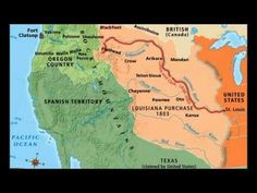 Lewis & Clark 1804-1806 Animated Map