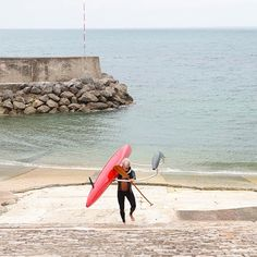 Port de Guétha♥ [François Lartigau wear our Yamamoto Limestone Neoprene Pant and Jacket available via www.cetusbiarritz.com] #guethary #port #france #pirogue #canoe #sea #cetusbiarritz #ambassador #neoprenepant #neoprenejacket #limestoneneoprene #neoprene #yamamotoneoprene Yamamoto, Canoe, Sea, Photo And Video, Jacket, Instagram, Home, The Ocean, Jackets