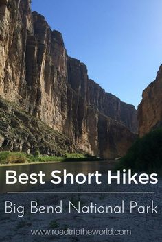 Best Short Hikes in Big Bend National Park! Even in the heat of summer and hiking with kids we found some amazing hikes in this unforgettable National Park!
