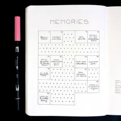 I wish my month had more memories. ⠀⠀⠀⠀⠀⠀⠀⠀⠀ I was sick the whole time, so I guess it makes sense. Bullet Journal Prompts, Bullet Journal 2019, Bullet Journal Notes, Bullet Journal Hacks, Bullet Journal Layout, Bullet Journal Inspiration, Journal Ideas, Bujo, Happy Stickers