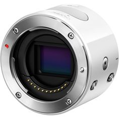 For iPhone - Olympus Air A01 Mirrorless Micro Four Thirds Lens-Style Digital Camera Body (White) US$299