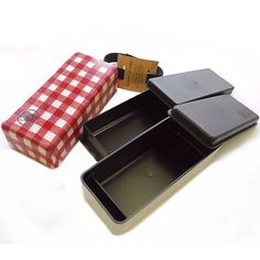 Large Size Checkered Bento Boxes