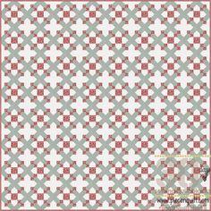 Кусок N Одеяло: Как: Тринадцать Квадраты Одеяло Блок - 30 дней шитья лоскутного блоков