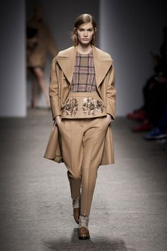 "Embellished Peplum over Pants (A/"" 2013 No. 21) http://www.fashionising.com/runway/b--no-21-aw-13-46889.html#1"