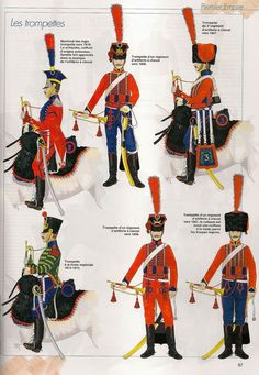 French; Horse Artillery, Trumpeters, 1806-15