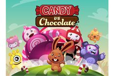 """Candy vs Chocolate"""