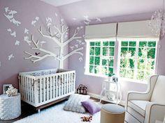 Decoration For Baby Nursery Tiffani Thiessen: 10+ Modern Baby Girl Nursery Ideas