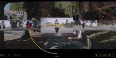 Navigation des vidéos à travers 24h http://24hoursofhappy.com/