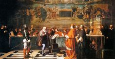 In the 1633 trial of Galileo Galilei, two worlds come into cosmic conflict. Galileo's world of science and humanism collides with the world of Scholasticism ...