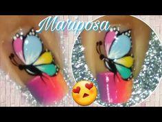 Manicure Y Pedicure, Cute Animal Photos, Toe Nails, Floral, Flowers, Youtube, Amanda, Polo, Art Nails