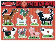 Melissa & Doug Puzzle Dźwiękowe Farma 10726 - Ceny i opinie - Ceneo.pl