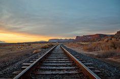 'On The Rails' ~ Utah