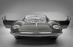 Classic vintage Lamborghini Miura
