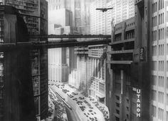 Metropolis (1927) dir Fritz Lang. Art Direction Otto Hunte, Erich Kettelhut, Karl Vollbrecht.