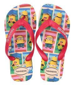 Chinelo Havaianas Kids Minions.  #Havaianas #moda