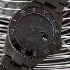 Gigandet SEA GROUND Automatik Herren Armbanduhr 'G2' Taucheruhr mit Edelstahlarmband – G2-010: Amazon.de: Uhren