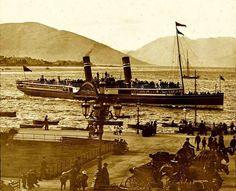 Rothesay Bay in Isle Of Bute, Scottish Gaelic, Scottish Islands, Arran, Steamers, 12th Century, Scotland Travel, Vintage Travel, United Kingdom