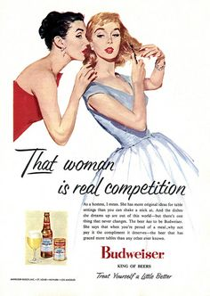 Fifties Budweiser Ad