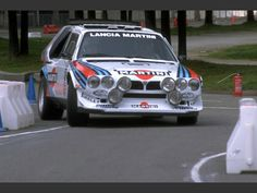 Group B Rally - Lancia