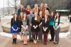 The St. Joe's PJAS team at the Region 7 competition last Saturday.