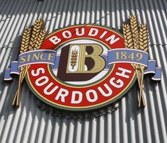 Boudin Sourdough: According to their website, wild yeasts in the San Francisco air give a unique, sour tang to traditional French bread, thus the name sourdough. The Boudin family's initial recipe is still used, with a portion of the original mother dough still starting every loaf.