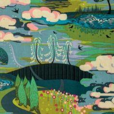 Anna Maria Horner - Fibs & Fables - Enchanted - Vibrant