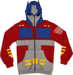 Retro Robot Sweaters #Transformers #Geeky http://trendhunter.com