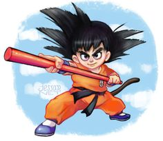 Son Goku Fanart  #goku #dragonball #artistonpinterest #boladedragon