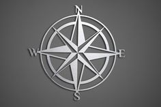 Giant Compass Metal Wall Art  Abstract Wall Decor by INSPIREMEtals, $100.00