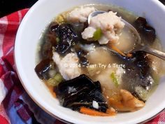 Just Try & Taste: Tekwan a la JTT - Super duper yummy!