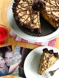 Coffee Cookie Dough Fudge Cheesecake. This might even top some Cheesecake Factory varieties.