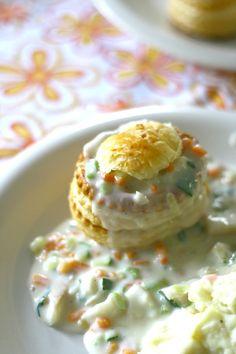 Healthy Summer Recipes, Healthy Chicken Recipes, Fish Recipes, Meat Recipes, Cooking Recipes, Vol Au Vent, Vegetarian Recepies, Belgian Food, Fancy Dinner Recipes