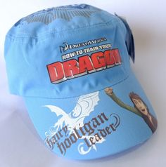 HOW TO TRAIN YOUR DRAGON BLUE CAPS 54cm New with Tags - On Sale!