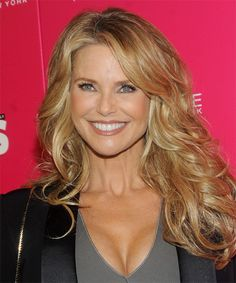 Christie Brinkley Hairstyle - Formal Long Straight. Click on the image to try on this hairstyle!