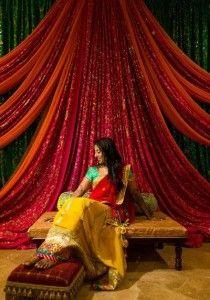 Wonderful Pre-Wedding Celebrations www.maharaniweddi… The post Pre-Wedding Celebrations www. Wedding Hall Decorations, Desi Wedding Decor, Marriage Decoration, Wedding Mandap, Wedding Ceremony Backdrop, Haldi Ceremony, Wedding Backdrops, Backdrop Decorations, Garland Wedding