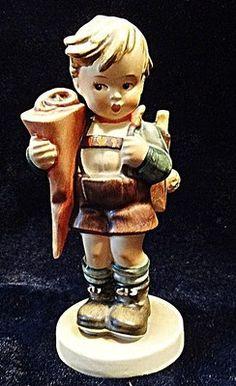 Goebel Hummel 80 Little Scholar TMK2 1950 1955 Large Bee Mint Piece   eBay