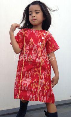 Tenun Jepara Dress  fb: Kath's Butik