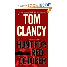 Tom Clancy, author of the Jack Ryan Novels, Including The Hunt for Red October, The Sum of All Fears, and Clear and Present Danger. I Love Books, Great Books, Books To Read, My Books, Tom Clancy Books, Reading Levels, Book Authors, Paperback Writer, So Little Time