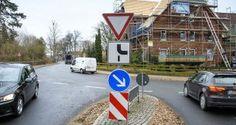 Melbeck- Dez 2016 - Um die Situation in der Ebstorfer Straße vor der Schule und dem Kindergarten zu entschärfen, könnten sich die Verkehrsexperten an dieser Stelle den Bau eines Kreisels vorstellen. Foto: t&w