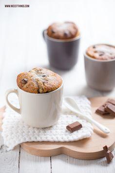 Chocolate Chai Mug Cakes / Tassenkuchen / Dibbern Solid / Snug Cloud