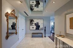 Проект - Зеркальные натяжные потолки. Производственные мастерские - Потолкофф #ENTRANCE #INTERIORDESIGN