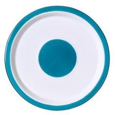 Variopinte Enamel Plates: Duck Egg Blue + White Small/Salad