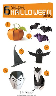 Join the Mood: 6 ORIGAMI HALLOWEEN IDEAS