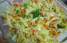 Civic salad slimming helps the heart toss the juice .- Civic salad slimming helps the heart shed sugar and has anti-cancer properties! Italian Chicken Dishes, Chicken Recipes For Two, Cottage Cheese, Tossed, Pesto, Cabbage, Juice, Vegetables, Ethnic Recipes