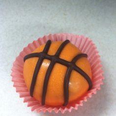 Basketball cake drop