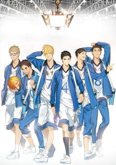 Team Kaiju (Kuroko no Basket) by ビミノ抹茶/NOCA (pixiv and twitter)