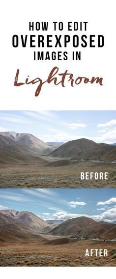 How to Edit Overexposed Images in Lightroom   Here & Air