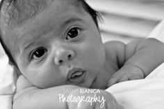 Black and White Baby Mini Session