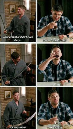 Even Dean can be wrong sometimes...